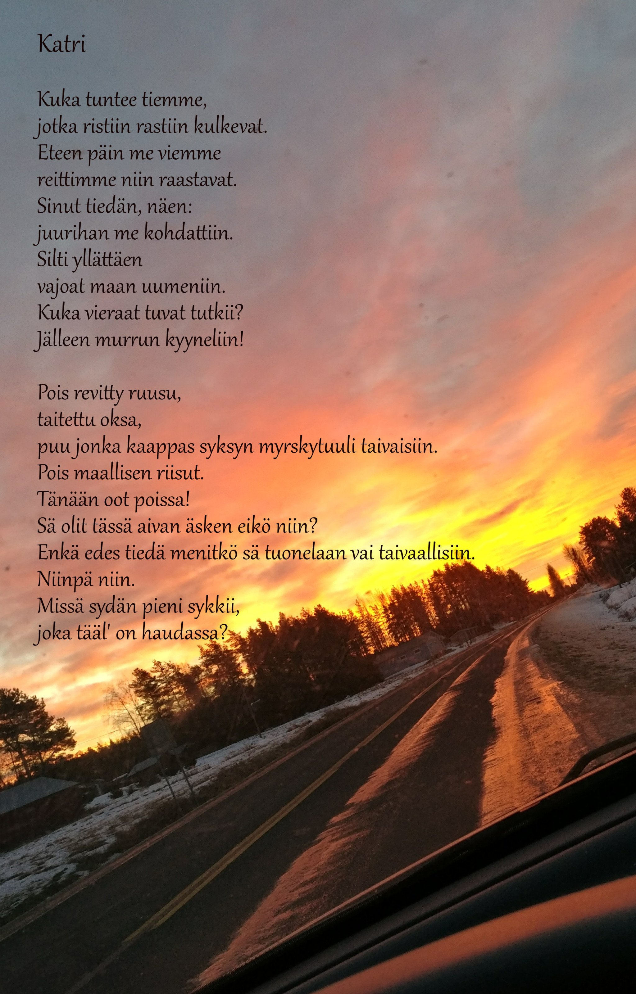 Epävarmuus ystävän taivaspaikasta - Nuotta.com